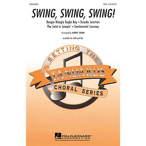 Hal Leonard Swing, Swing, Swing! (Medley) SSA arranged by Kirby Shaw-thumbnail