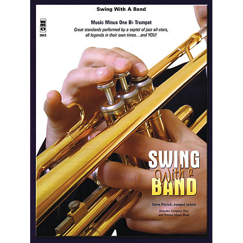 Music Minus One Swing with a Band Music Minus One Series Book with CD Performed by Steve Patrick-thumbnail