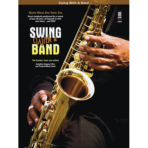 Music Minus One Swing with a Band Music Minus One Series Book with CD Performed by Tim Gordon-thumbnail