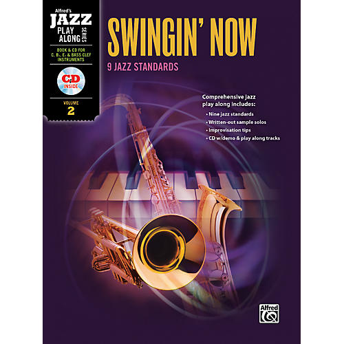 Alfred Swingin' Now Flexible Instrumentation Book & CD