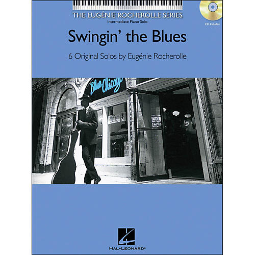 Hal Leonard Swingin' The Blues Book/CD Eugenie Rocherolle Series arranged for piano solo-thumbnail