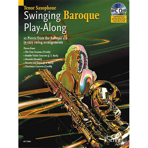 Schott Swinging Baroque Play-Along Misc Series Book with CD-thumbnail