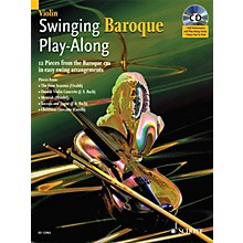 Schott Swinging Baroque Play-Along for Violin BK/CD Composed by Various Arranged by Alexander L'Estrange