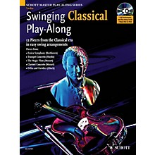 Schott Swinging Classical Play-Along String Solo Series Softcover with CD