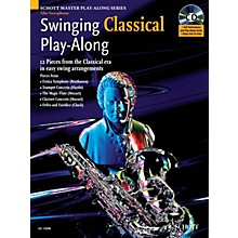 Schott Swinging Classical Play-Along Woodwind Solo Series Book with CD