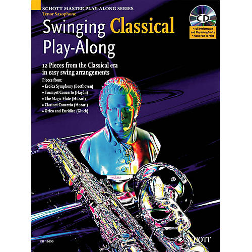 Schott Swinging Classical Play-Along Woodwind Solo Series Book with CD-thumbnail