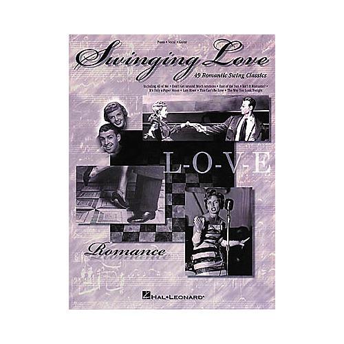 Hal Leonard Swinging Love Piano, Vocal, Guitar Songbook