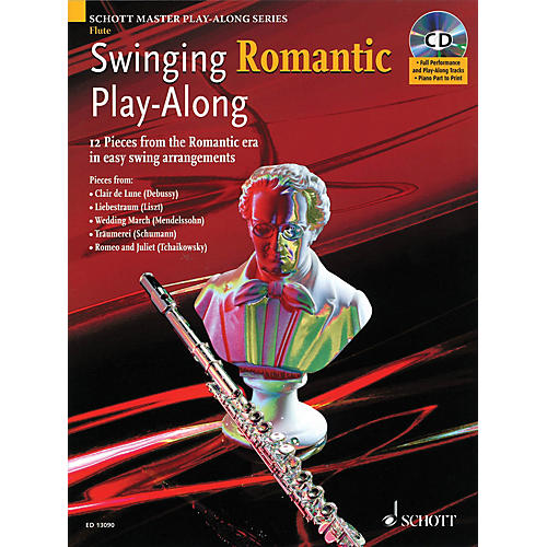 Schott Swinging Romantic Play-Along Instrumental Folio Series Softcover with CD-thumbnail