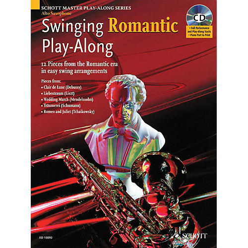 Schott Swinging Romantic Play-Along Instrumental Folio Series-thumbnail
