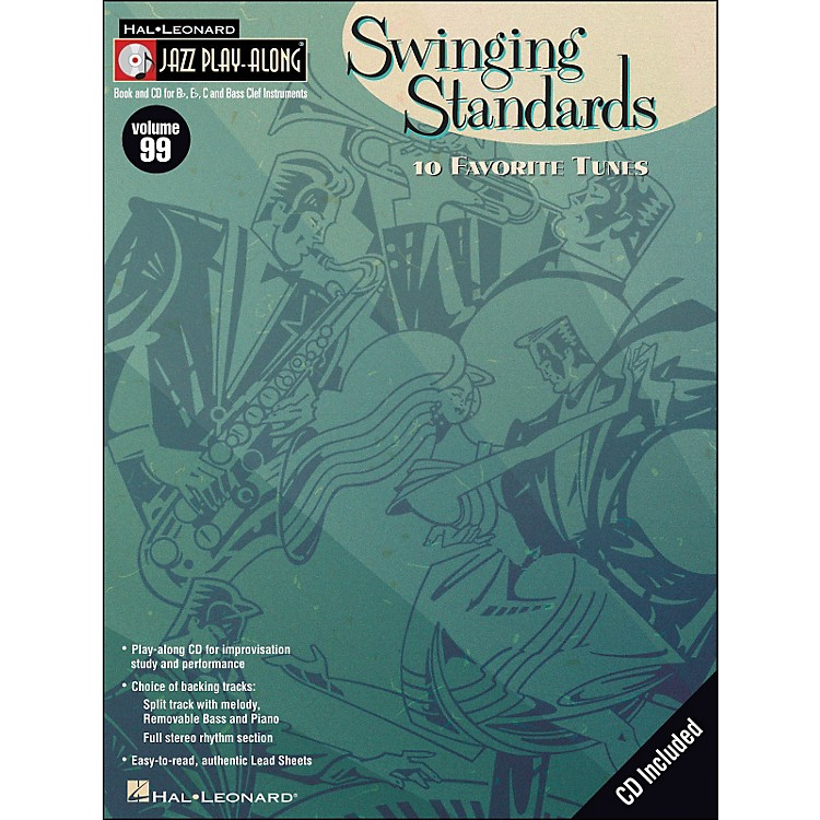 Hal LeonardSwinging Standards Jazz Play-Along Volume 99 Book/CD