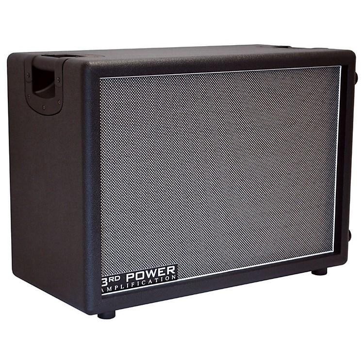 3rd Power Amps Switchback Series SB212 Guitar Speaker Cabinet with Celestion Alnico Gold and Vintage 30 Speakers Black