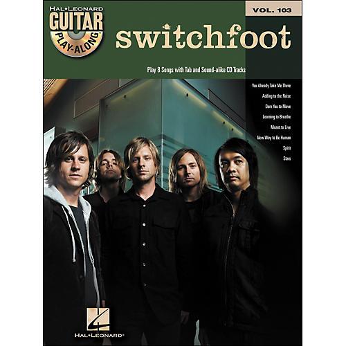 Hal Leonard Switchfoot - Guitar Play-Along Volume 103 (Book/CD)-thumbnail