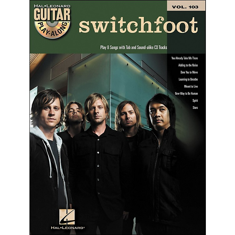 Hal LeonardSwitchfoot - Guitar Play-Along Volume 103 (Book/CD)