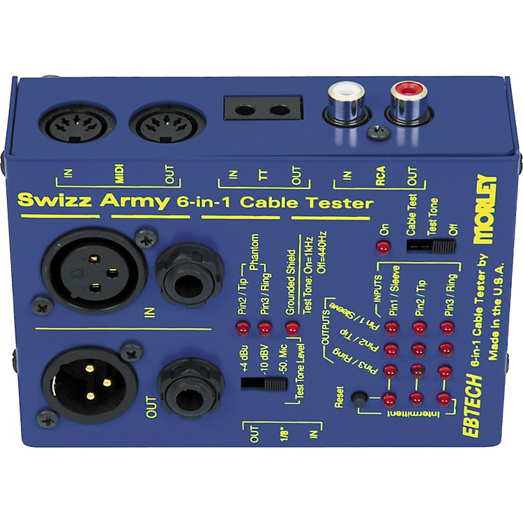 EbtechSwizz Army Cable Tester