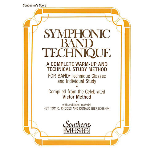 Southern Symphonic Band Technique (S.B.T.) (Conductor) Concert Band Level 3 Arranged by John Victor