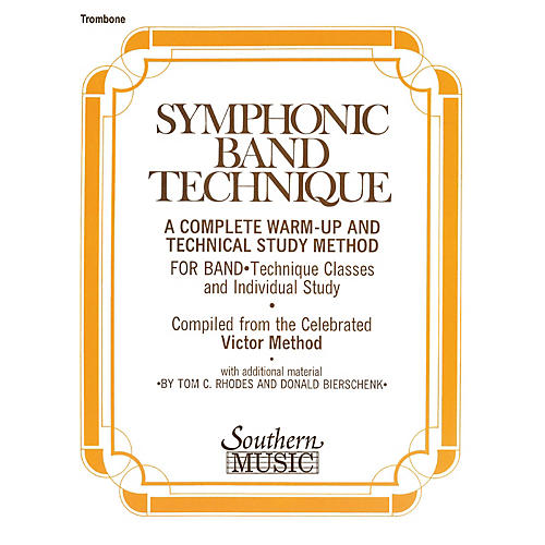 Southern Symphonic Band Technique (S.B.T.) (Trombone) Southern Music Series Arranged by John Victor-thumbnail
