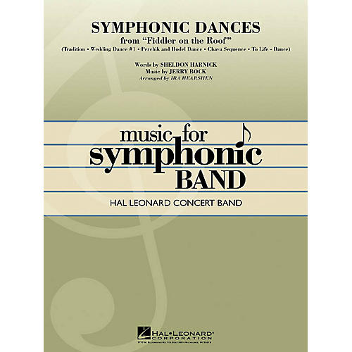 Hal Leonard Symphonic Dances from Fiddler on the Roof Concert Band Level 4 Arranged by Ira Hearshen-thumbnail