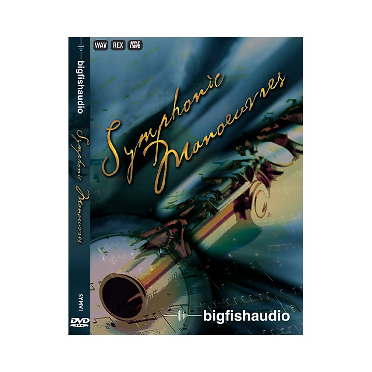 Big Fish Symphonic Manoeuvres Sample Library DVD Set