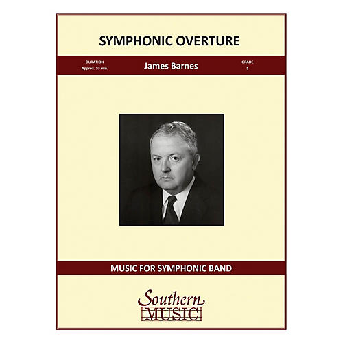 Southern Symphonic Overture Concert Band Level 5 Composed by James Barnes-thumbnail