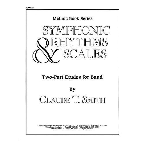 Hal Leonard Symphonic Rhythms & Scales (Two-Part Etudes for Band and Orchestra Violin) Concert Band Level 2-4-thumbnail