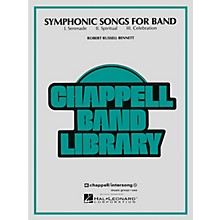 Hal Leonard Symphonic Songs for Band Concert Band Level 4 Composed by Robert Russell Bennett