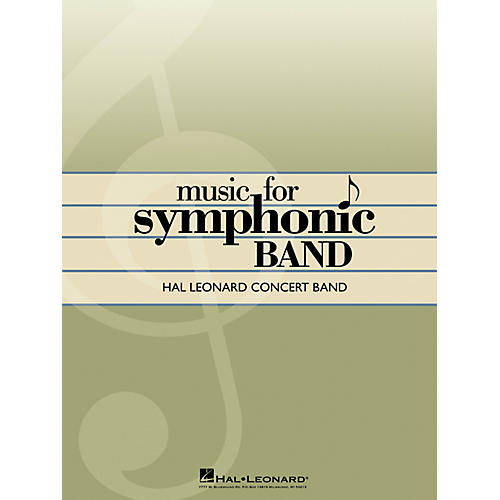 Hal Leonard Symphonic Songs for Band (Conductor Score) Concert Band Level 4 Arranged by George Ferencz-thumbnail