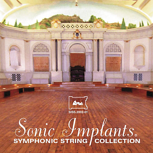 Sonic Implants Symphonic String Collection Giga DVD