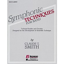 Hal Leonard Symphonic Techniques for Band (Bb Bass Clarinet) Concert Band Level 2-3 Composed by Claude T. Smith
