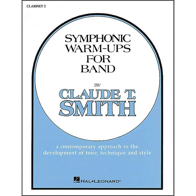 Hal LeonardSymphonic Warm-Ups For Band For B Flat Clarinet 2
