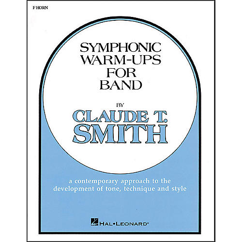 Hal Leonard Symphonic Warm-Ups For Band For French Horn-thumbnail