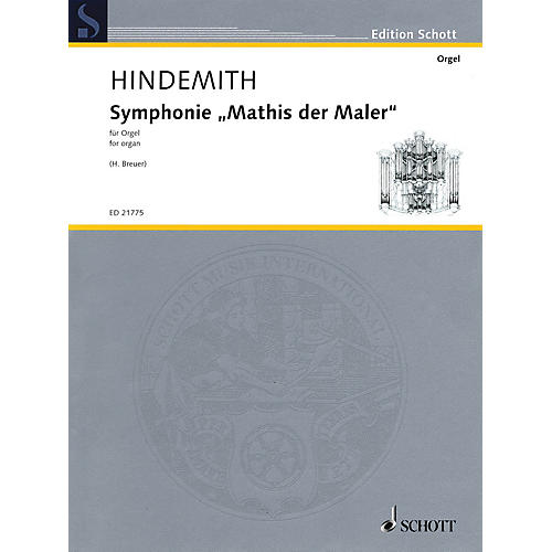 Schott Symphonie Mathis der Maler Schott Series Softcover Composed by Paul Hindemith-thumbnail