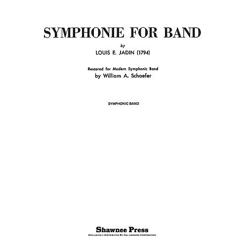 Shawnee Press Symphonie for Band Concert Band Level 4 Arranged by Schaefer-thumbnail