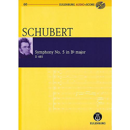 Eulenburg Symphony No 5 in B-flat Major D 485 Eulenberg Audio plus Score w/ CD by Schubert Edited by Richard Clarke-thumbnail