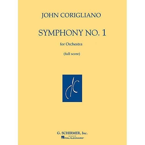 G. Schirmer Symphony No. 1 (Full Score) Study Score Series Composed by John Corigliano-thumbnail