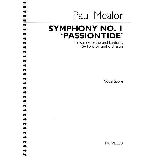 Novello Symphony No. 1 'Passiontide' SATB Score Composed by Paul Mealor
