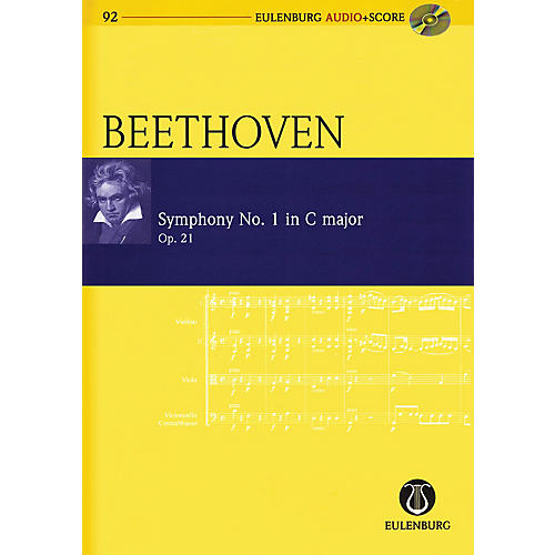 Schott Symphony No. 1 in C Major, Op. 21 Study Score Series Softcover with CD Composed by Ludwig van Beethoven-thumbnail