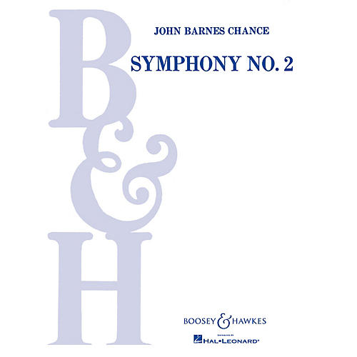 Boosey and Hawkes Symphony No. 2 (Full Score) Concert Band Composed by John Barnes Chance-thumbnail