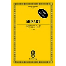 Eulenburg Symphony No. 29 in A Major, K201 Schott Composed by Wolfgang Amadeus Mozart Edited by Richard Clarke