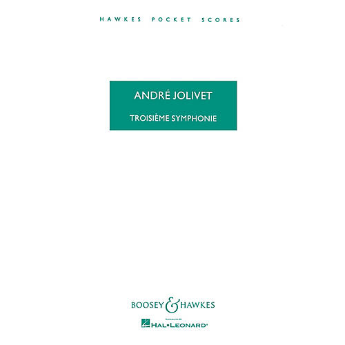 Boosey and Hawkes Symphony No. 3 Boosey & Hawkes Scores/Books Series Composed by André Jolivet-thumbnail