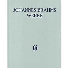 G. Henle Verlag Symphony No. 3 in F Major, Op. 90 Henle Edition Hardcover by Johannes Brahms Edited by Robert Pascall