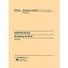 G. Schirmer Symphony No. 4 (West Point Symphony) - Symphony for Band (Full Score) Concert Band by Morton Gould