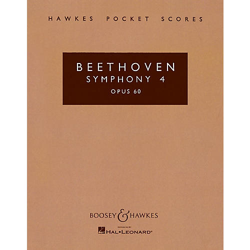 Boosey and Hawkes Symphony No. 4 in B-flat, Op. 60 Boosey & Hawkes Scores/Books Series Composed by Ludwig van Beethoven-thumbnail