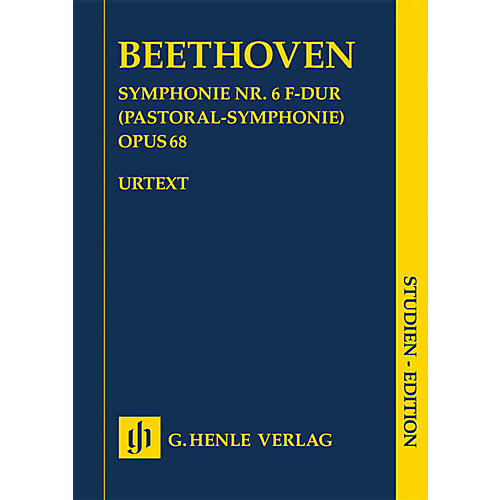 G. Henle Verlag Symphony No. 6 in F Major, Op. 68 (Pastoral Symphony) Henle Study Scores by Beethoven Edited by Dufner-thumbnail