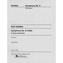 Associated Symphony No. 9 (1962) (Full Score) Study Score Series Composed by Roy Harris