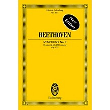 Eulenburg Symphony No. 9 in D minor, Op. 125 Choral Schott Series Composed by Ludwig van Beethoven