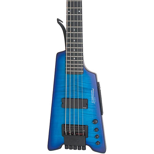 Steinberger Synapse XS-15FPA Custom 5-String Bass Transparent Blue Satin