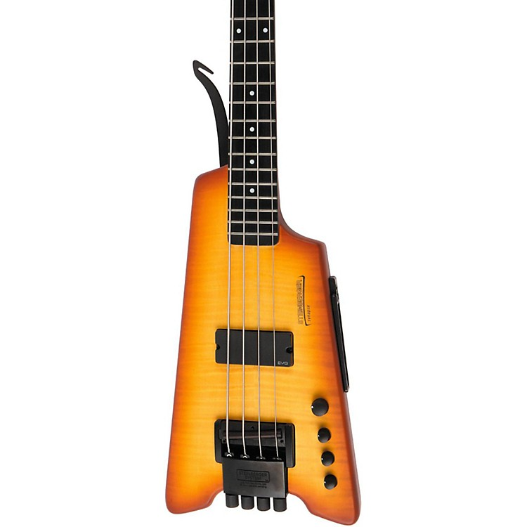 Steinberger Synapse XS-1FPA Custom 4-String Bass Transparent Amber