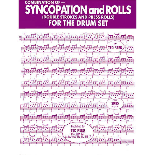 Alfred Syncopation and Rolls for the Drum Set Book
