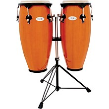 Toca Synergy Conga Set with Stand Amber