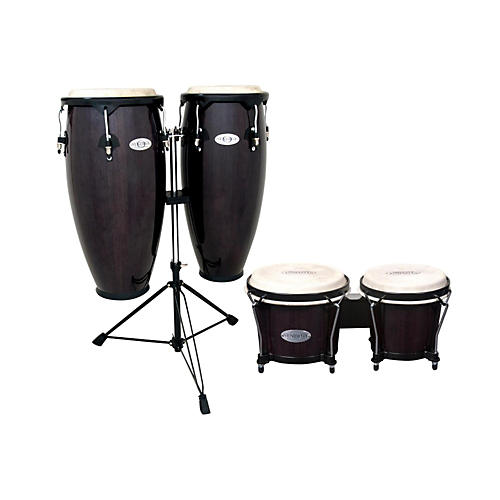 Toca Synergy Conga Set with Stand and Bongos-thumbnail